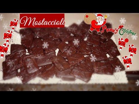 mostaccioli - ricetta