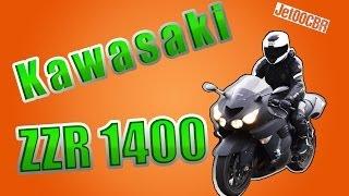 8. Kawasaki ZZR1400 | ТЕСТ-ДРАЙВ от Jet00CBR | Обзор ZX14