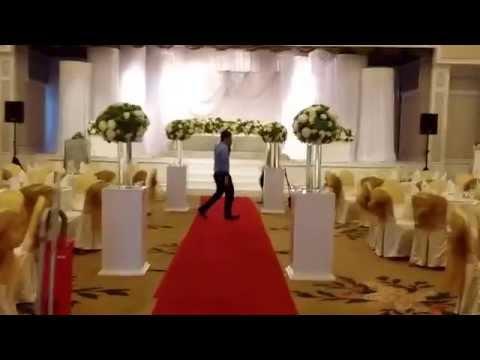 Modern Malay wedding decor video