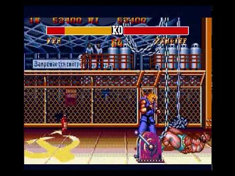 street fighter 2 special champion edition sega genesis moves