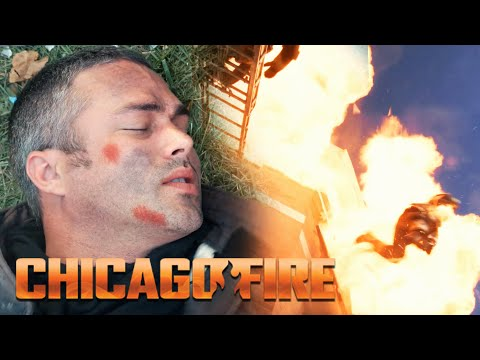Severide Falls From Three Stories   Chicago Fire