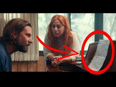 "10 Secrets You Missed In ""I& 39;ll Never Love Again"" - Lady Gaga, Bradley Cooper (A Star Is Born"