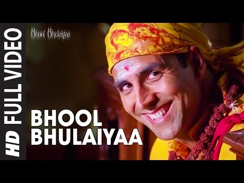 Bhool Bhulaiyaa Title Track (Full Video) | Akshay Kumar, Vidya Balan | Neeraj Shridhar | Pritam