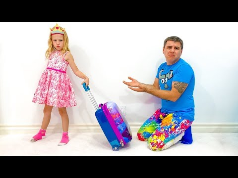 Stacy brigou com o pai