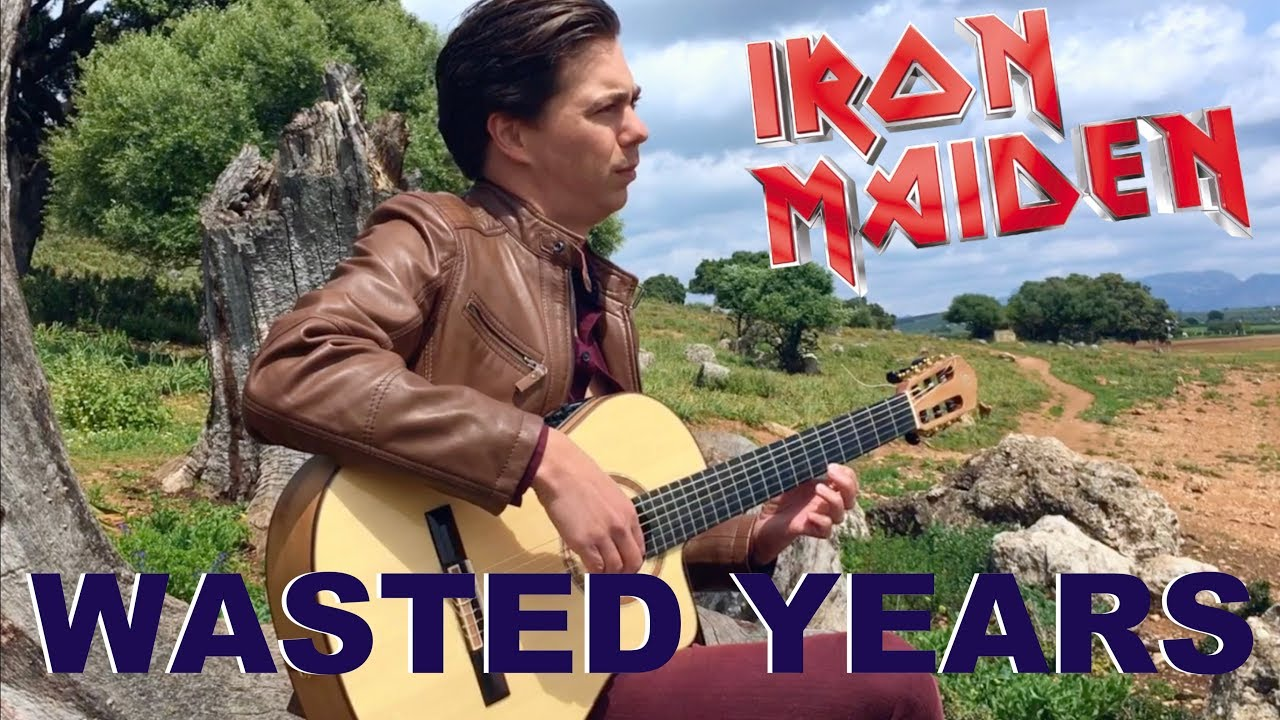 Wasted Years (IRON MAIDEN) Acoustic – Classical Fingerstyle Guitar by Thomas Zwijsen