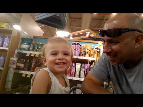 Having Some Fun At The Fry's Grocery Store With My Daughter In Yuma AZ