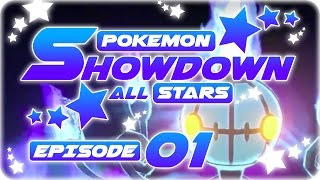 Randomized Pokemon Showdown Live! UU Showdown All Stars Episode 1: The Lure! by aDrive