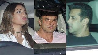 Salman Khan's Tublight Movie Special Screening | Sonakshi Sinha, Sohail Khan