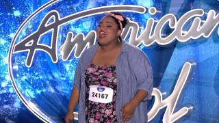 """AMERICAN IDOL AUDITION- Jessie J's """"Mama Knows Best"""" cover by Piper Jones"""