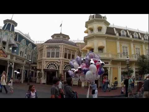 Main Street USA - In this video I start filming from the Train Station on Main Street USA, then walk down Main Street all the way to Cinderella's Castle. Filmed on February 3r...