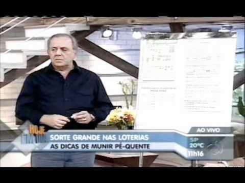 Pé Quente - Munir Wady Niss é recordista na distribuição de prêmios das Loterias promovidas pela Caixa Econômica Federal. Seu trabalho de Consultoria na formulação de jo...