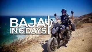 9. Baja in 6 days - Ducati Diavel Strada - MotoGeo Adventures