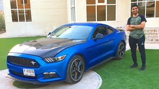 MY NEW MUSTANG !!!