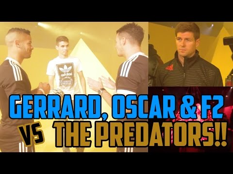 event - Are you ready?? Things are about to get intense!! ...We (The F2) were invited by @AdidasUk to come to the #PredatorInstinct Launch Event in London on Wed 27th of Aug 2014! With appearances...