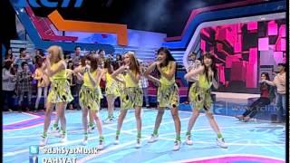 "Video Cherrybelle ""Pura Pura Cinta"" - dahSyat 19 Juni 2014 MP3, 3GP, MP4, WEBM, AVI, FLV April 2018"