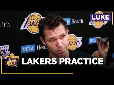 Video: Luke Walton Talks About Lonzo Ball's First Full Practice Back, Learning From Isaiah Thomas