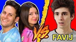 Favij VS Me Contro Te - Battaglia Rap Epica Freestyle - Manuel Aski