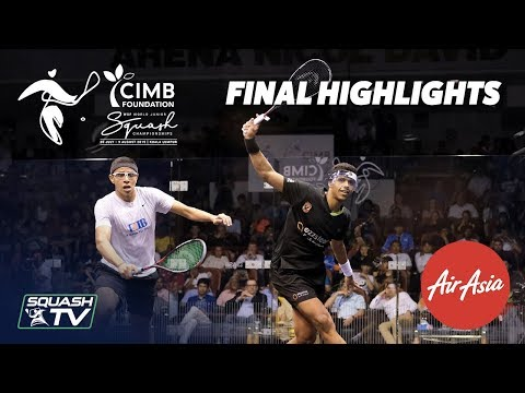 Squash: Asal v El Sirty - WSF World Junior Champs 2019 Men's Final Highlights