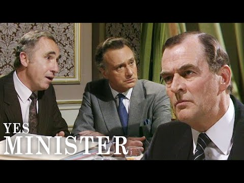 The BBC Cannot Give In To Government Pressure | Yes Minister | BBC Comedy Greats