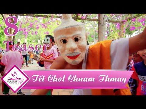 Teaser Hành trình văn hóa Việt tập 8 | Trúc Mai, Kyo York trải nghiệm Tết cổ truyền Khmer