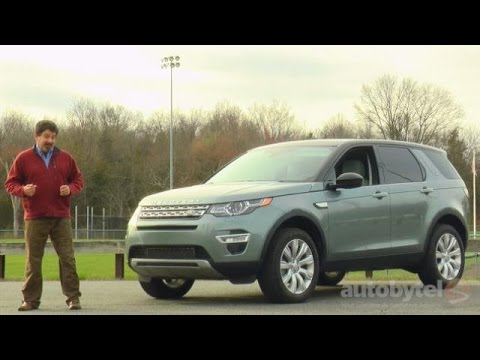 2016 Land Rover Range Rover Discovery Sport HSE LUX Video Review