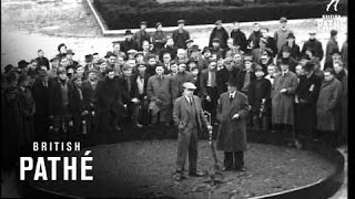 Calverton United Kingdom  City pictures : Opening Of New Calverton Colliery (1946)