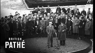 Calverton United Kingdom  city photos : Opening Of New Calverton Colliery (1946)