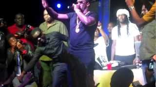 P Diddy/Puff Daddy live in Jamaica ft Tommy lee,Beenie man JAN 2013 (Artiste Versi-Rhyme).MP4