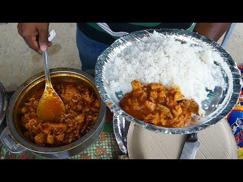 Cheapest Roadside Unlimited Non Veg Meals  | Hyderabad Roadside meals | Hai Foodies