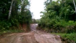 Conhecendo a trilha. Muita lama