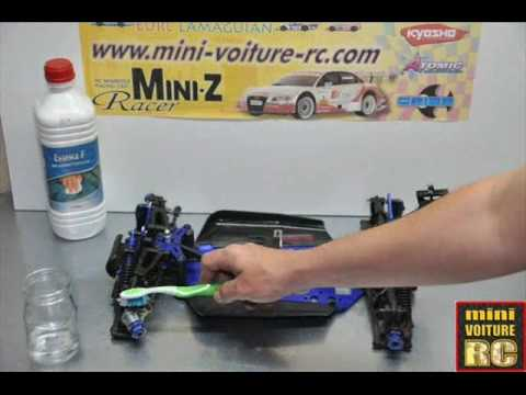 comment nettoyer sa voiture rc