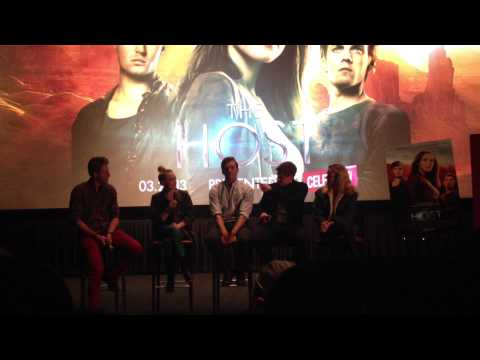 The Host Screening/ Cast Panel in Hollywood
