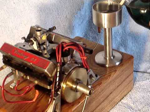 Builder claims this is the world's smallest running V8