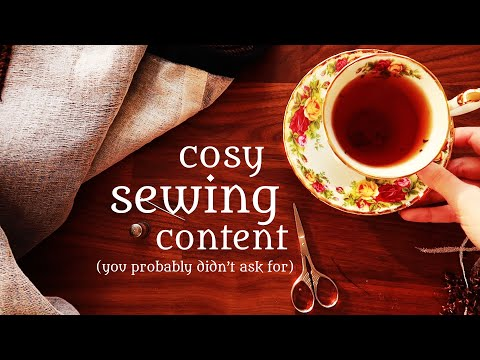 some cosy sewing motivation for you :)