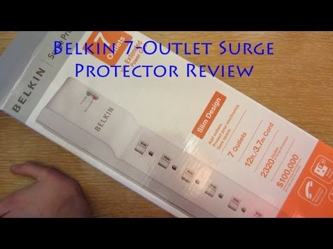 Belkin 7-Outlet Surge Protector Review
