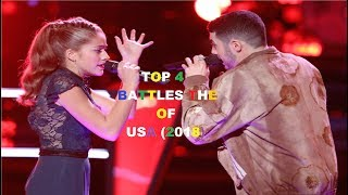 TOP 4 BATTLES THE VOICE OF USA 2018