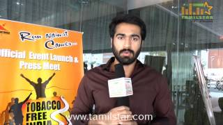 Thaman Kumar Speaks at Tobacco Free India Press Meet