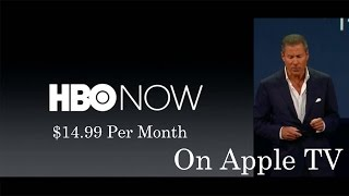 Introducing HBO NOW (Apple Keynote)  + New Game of Thrones Season 5 Trailer