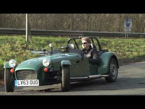 Caterham SEVEN 160 Caterham Seven 160 Road Test and Interview
