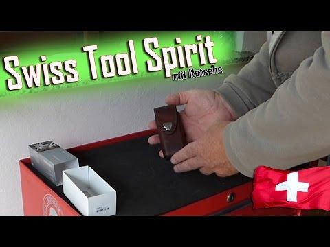 Mein neues Messer Swiss Tool Spirit Plus Ratsche 3.0239.L