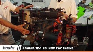 8. Yamaha TR-1 HO: New PWC Engine