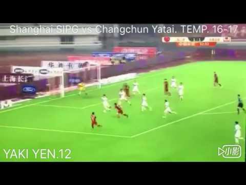 YAKI YEN. Chinese super league. Shanghai Sipg vs Changchun Yatai
