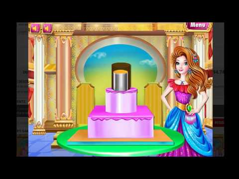 Castle Cake Cooking Game