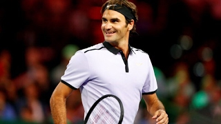 Playing for a great cause (benefiting the Roger Federer Foundation), Roger Federer and John Isner put on quite a show in the...