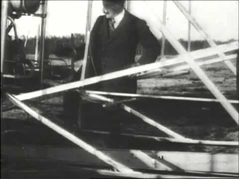 Wright Brothers First Flight, 1903 A Day That Shook The World HD 360p
