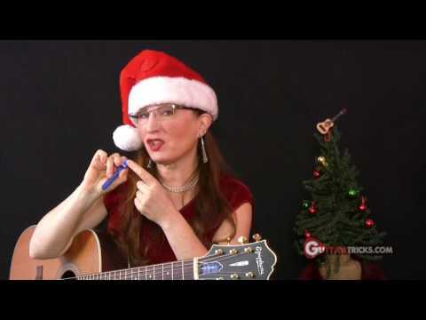 Jingle Bells Guitar Lesson – Christmas – Acoustic Guitar Lesson – Guitar Tricks 34