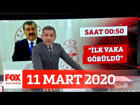 Koronavirüs Türkiyede! 11 Mart 2020 Fatih Portakal ile FOX Ana Haber