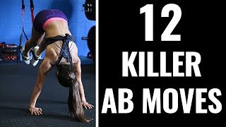 5 Best Core Killer Exercises - FREE reporthttp://www.criticalbench.com/corekillers/Why Crunches & Sit Ups DAMAGE Your Spinehttp://www.criticalbench.com/growth/absSubscribe to Our Channel:http://www.youtube.com/subscription_center?add_user=criticalbenchThere are 100 different ways to effectively work your abs and core without doing a single crunch or sit up....Here are 12 advanced ab exercises to help you get a harder core, flatten your belly and strengthen those DEEP ab muscles that crunches and sit ups don't work very well.If you're a beginner, be smart, start slowly and make steady progress...over time you can begin doing some or many of these exercises!
