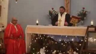 Christmas 2009 at Karpasha-Sermon of Arch.  Soueif