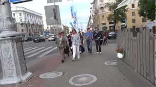 Minsk Belarus  city photos gallery : Walking in Minsk, Belarus Минске, Беларусь